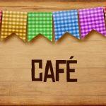 Plaquinhas de Comida para Festa Junina Cafe