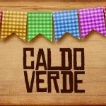 Plaquinhas de Comida para Festa Junina Caldo Verde
