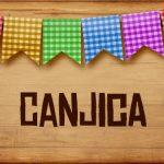 Plaquinhas de Comida para Festa Junina Canjica