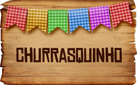 Plaquinhas de Comida para Festa Junina Churrasquinho