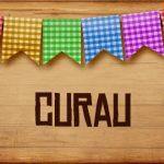 Plaquinhas de Comida para Festa Junina Curau