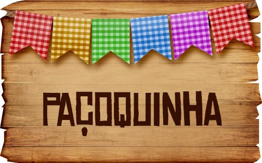 Plaquinhas de Comida para Festa Junina Pacoquinha