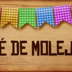 Plaquinhas de Comida para Festa Junina Pe de Molejo