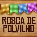 Plaquinhas de Comida para Festa Junina Rosca de Polvilho