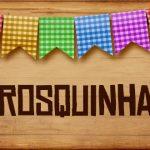Plaquinhas de Comida para Festa Junina Rosquinha