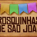 Plaquinhas de Comida para Festa Junina Rosquinha de Sao Joao