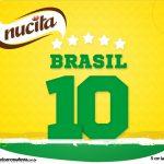 Rotulo Creminho Nucita Copa do Mundo