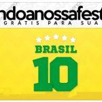 Rotulo Lapis Copa do Mundo