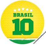 Rotulo Latinhas, Toppers e tubete Copa do Mundo