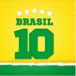 Rotulo Mini Confeti Copa do Mundo