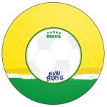 Rotulo Personalizado para latinha e toppers Copa do Mundo