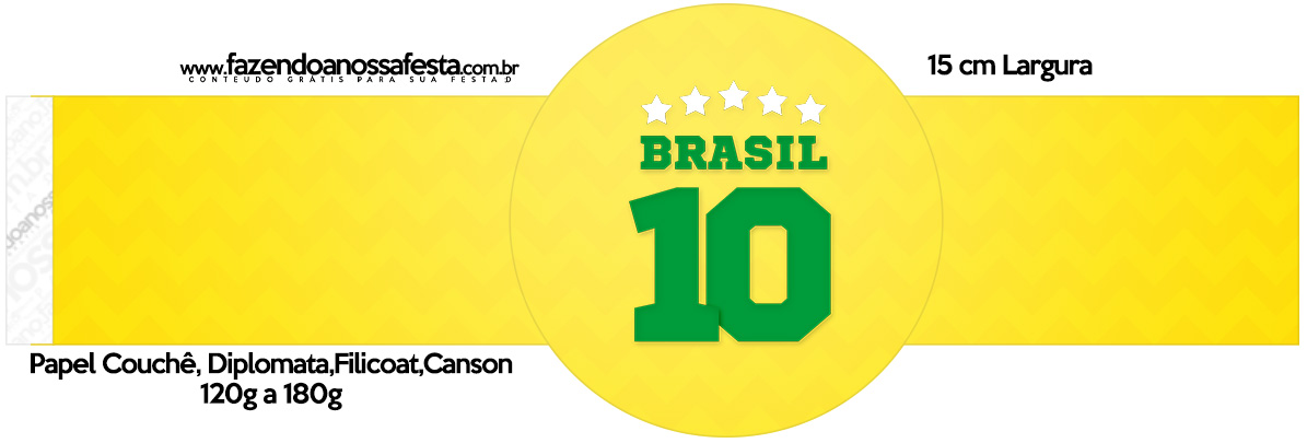 Rotulo Porta Guardanapos Copa do Mundo