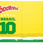 Rotulo Toddynho Copa do Mundo