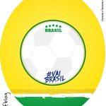 Rotulo Tubete Oval Copa do Mundo