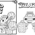 1 Livrinho para Colorir Blaze and the Monster Machines