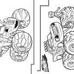 3 Livrinho para Colorir Blaze and the Monster Machines
