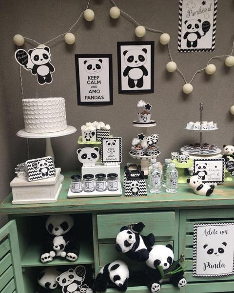 50 Ideias Festa Panda 15