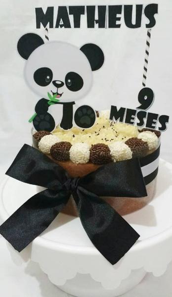 50 Ideias Festa Panda 28