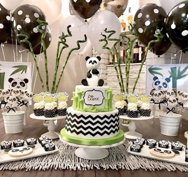 50 Ideias Festa Panda 35