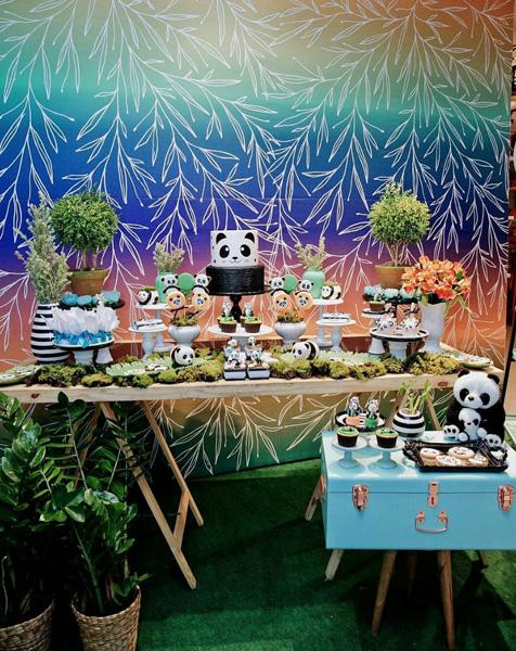 50 Ideias Festa Panda 36