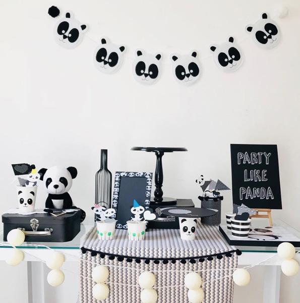 50 Ideias Festa Panda 38