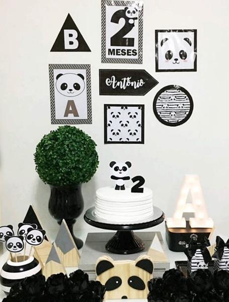 50 Ideias Festa Panda 41