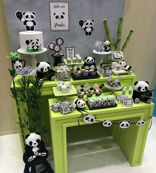 50 Ideias Festa Panda 9