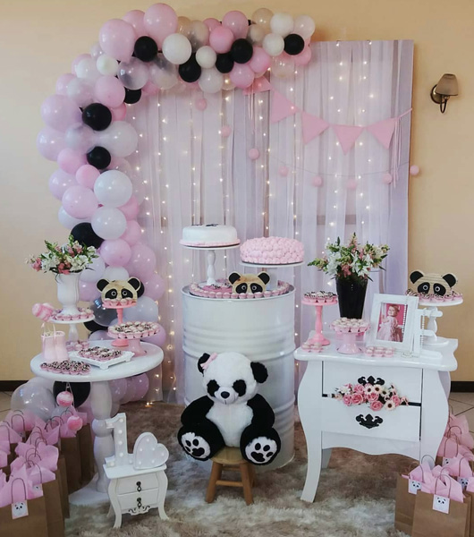 50 Ideias para Festa Panda 1