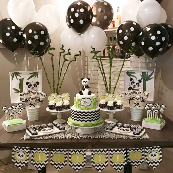 50 Ideias para Festa Panda 5