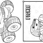 8 Livrinho para Colorir Blaze and the Monster Machines