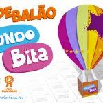 Caixa Balão Mundo Bita Grátis para Imprimir
