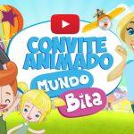 Convite Animado Virtual Mundo Bita Grátis para Download