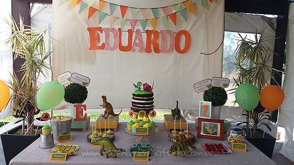 Festa Infantil Dinossauro do Eduardo 2