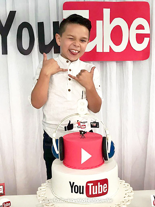 Festa Infantil Youtube do Gustavo 2