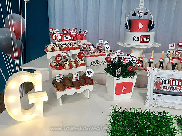Festa Infantil Youtube do Gustavo 4