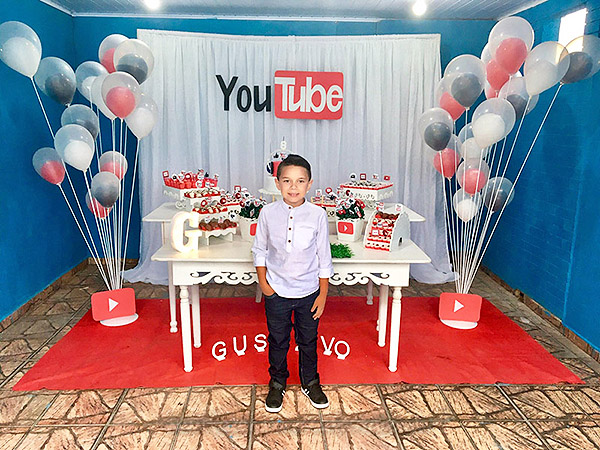 Festa Youtube do Gustavo