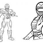 Livrinho para Colorir Power Rangers 1