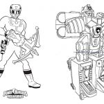 Livrinho para Colorir Power Rangers 3