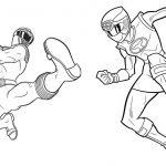 Livrinho para Colorir Power Rangers 4
