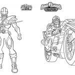 Livrinho para Colorir Power Rangers 6