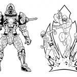 Livrinho para Colorir Power Rangers 7