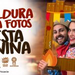Moldura para Fotos Festa Junina Grátis para Imprimir em Casa