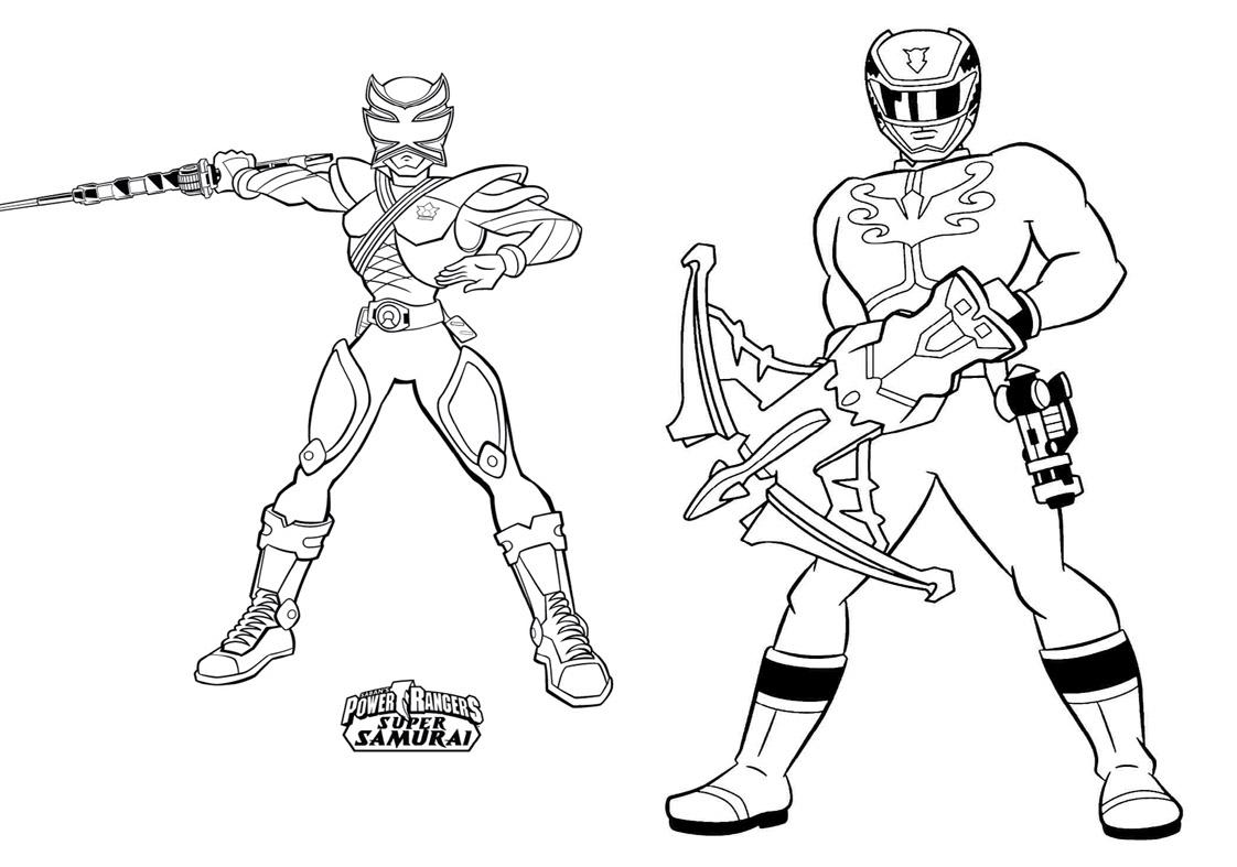 Revista Para Colorir Power Rangers 12