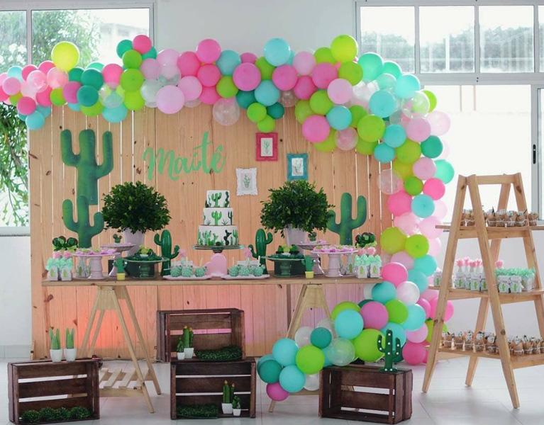 50 Ideias para Festa Cactos 5