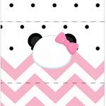 Bala Personalizada Panda Rosa Personalizados para Festa