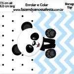 Bisnaga Brigadeiro 15gr Panda Azul