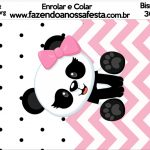 Bisnaga Brigadeiro 30gr Panda Rosa Menina