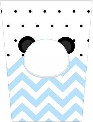 Bisnaga Brigadeiro Panda Azul