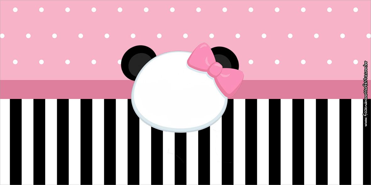 Cofrinho Panda Rosa