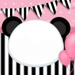 Convite Panda Rosa 4